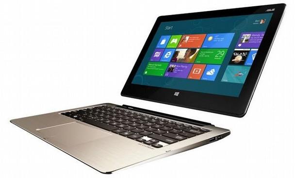 Asus'un Windows'lu laptop - tableti testte!
