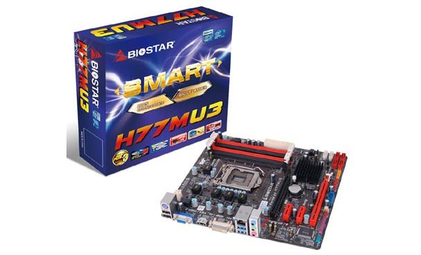 Biostar H77MU3 anakart testte!