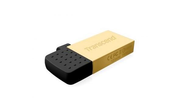 JetFlash 380G mini USB bellek elimizde.