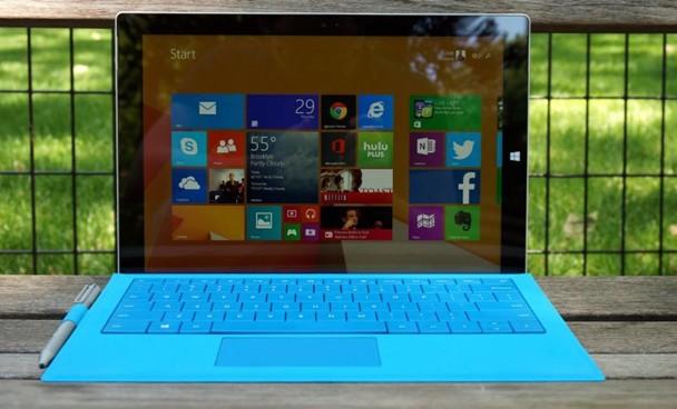 Surface Pro 3 testte!