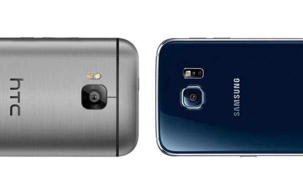 Galaxy S6 ve HTC One M9 karşı karşıya!