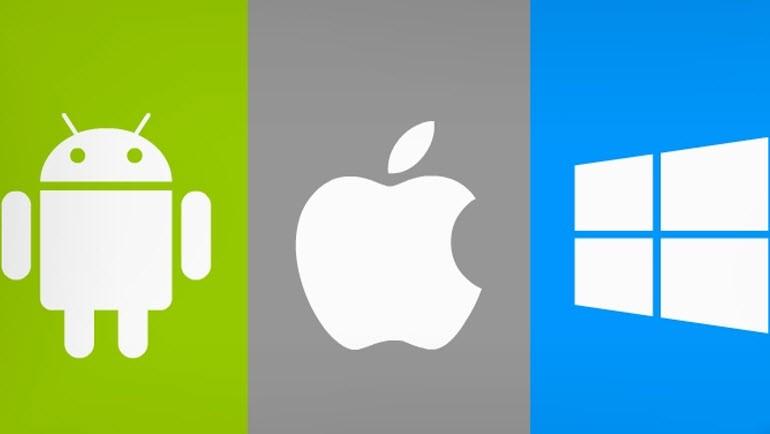 Android 5, iOS 8 ve WP8.1 karşı karşıya!