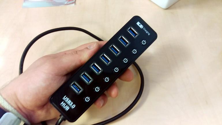 USB 3.0 portu az geliyorsa...
