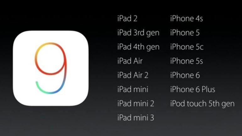 iOS 8 ve iOS 9'u karşılaştırdık!