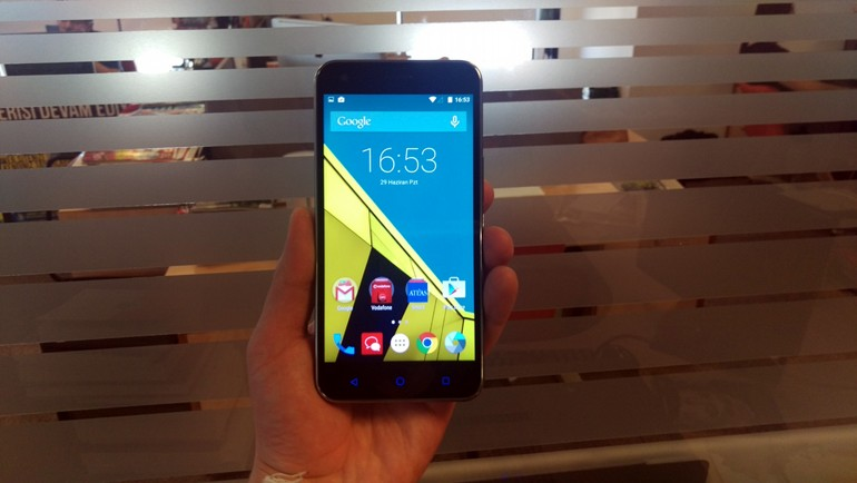 Vodafone Smart 6 testte!