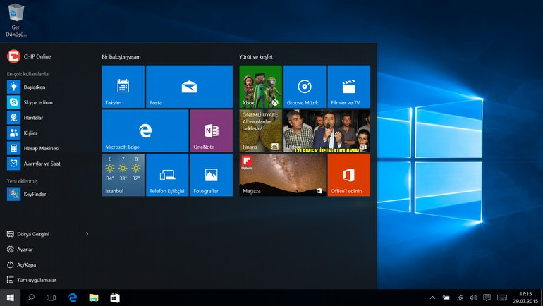 Windows 10'u A'dan Z'ye inceledik!