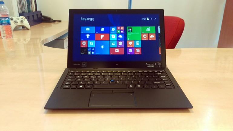 Toshiba'nın yeni ultrabook'u testte!
