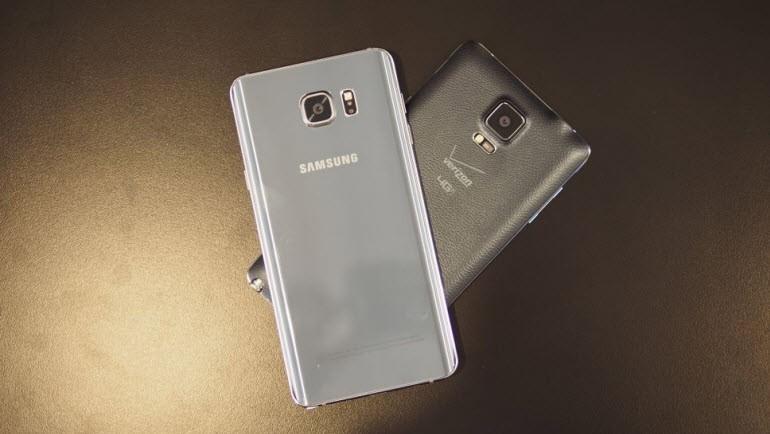 Galaxy Note 5, Galaxy Note 4 karşısında!