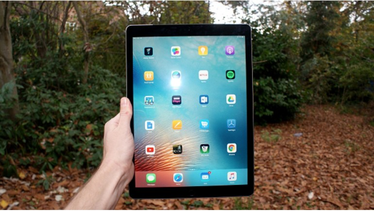 Apple iPad Pro testte!