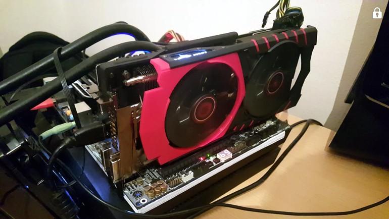 MSI R9 390X Gaming 8G elimizde!