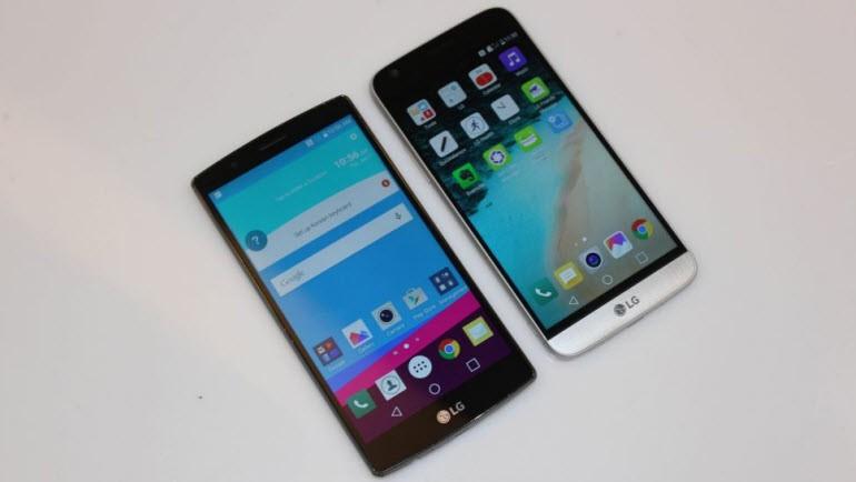 LG G5, LG G4 ile karşı karşıya!