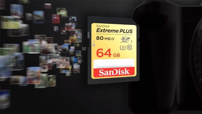 SanDisk Extreme Plus SDHC UHS-I Car testte