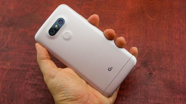 Modüler tasarımlı LG G5 testte!
