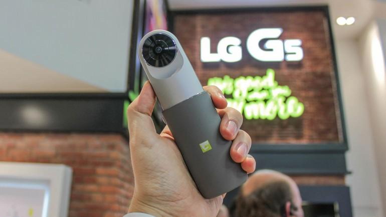 LG'nin 360 derecelik kamerası testte!