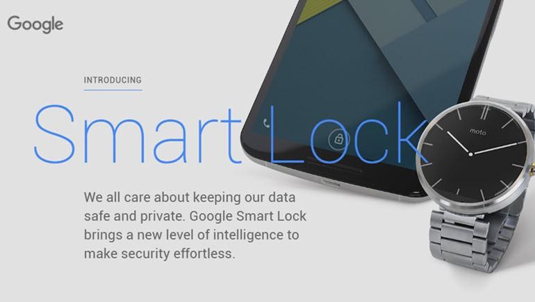 Kilit ekranını kapatmayın Smart Lock kullanın