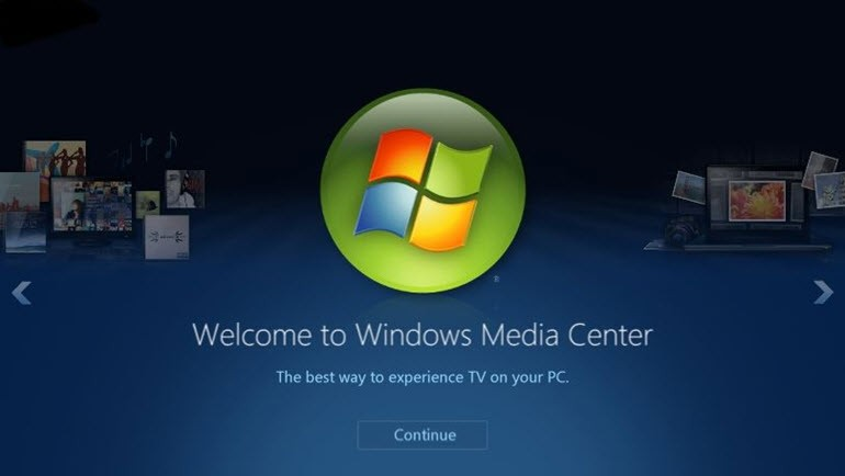 Windows Media Center'ı Windows 10'a yüklemenin yolu!