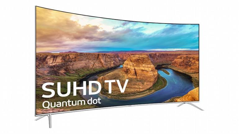 Samsung'un yeni TV'si 55 KS8500 bizlerle...