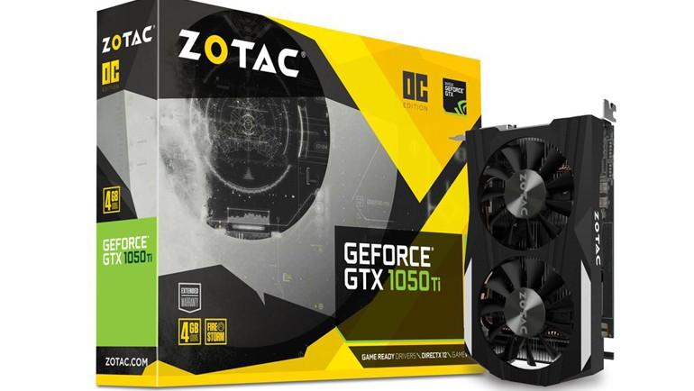 Zotac GeForce GTX 1050 Ti OC testte!