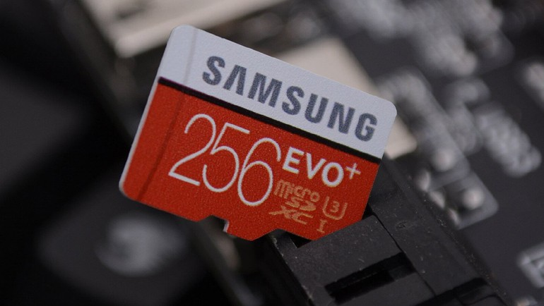 Samsung EVO Plus 256 GB testte!