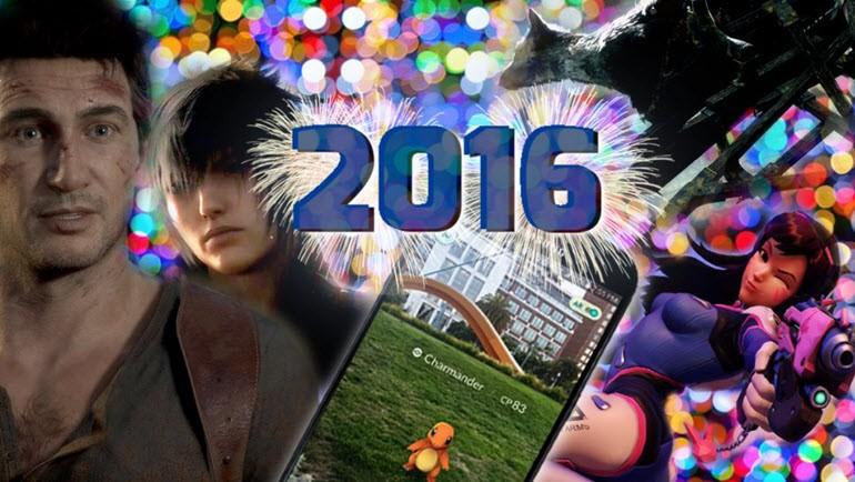 2016'nın En Müthiş 8 Oyunu!