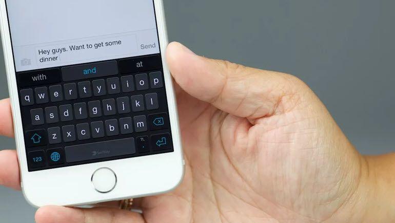 iPhone ve iPad İçin 6 Klavye İpucu!