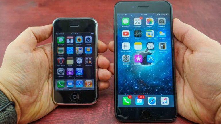 iPhone 1'den iPhone 7 Plus'a Neler Değişti?