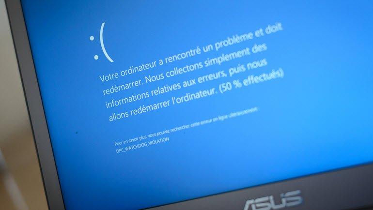Windows 10'da Mavi Ekran Hatası Nasıl Çözülür?