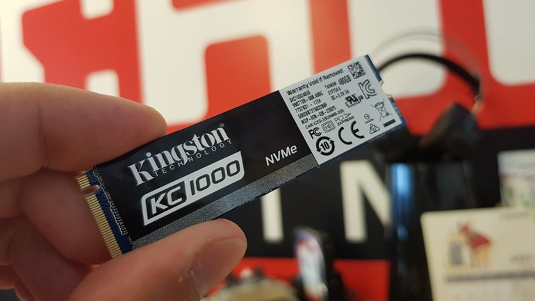 Kingston KC1000 NVMe PCIe SSD İncelemesi