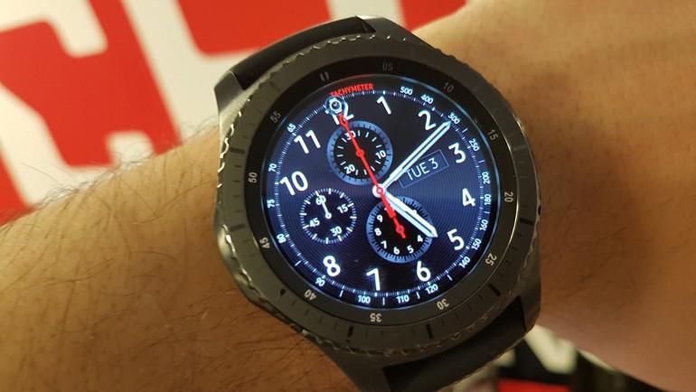 Samsung Gear S3 testte!