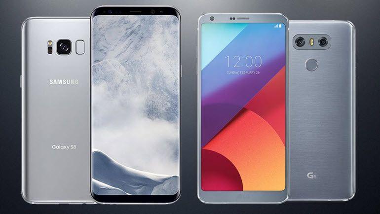 Samsung Galaxy S8 ve LG G6 Karşı Karşıya!