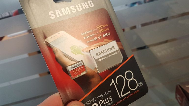 Samsung EVO Plus 128 GB İncelemesi