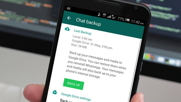 WhatsApp'ta Resim ve Video Kurtarma!