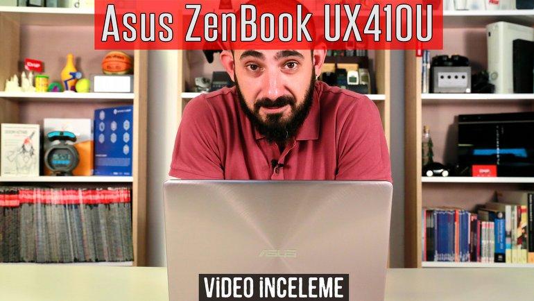 Asus ZenBook UX410U İnceleme