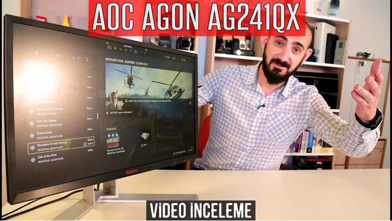AOC AGON AG241QX İnceleme