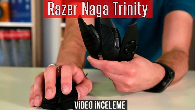 Razer Naga Trinity İnceleme