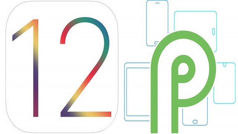 iOS 12, Android P karşısında!