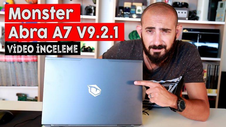 Monster Abra A7 V9.2.1 İnceleme