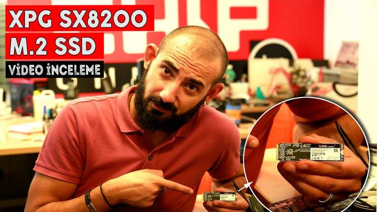 XPG SX8200 M.2 SSD İnceleme