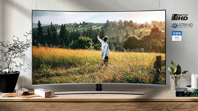 "Samsung 55"" Premium Curved Smart 4K İnceleme"