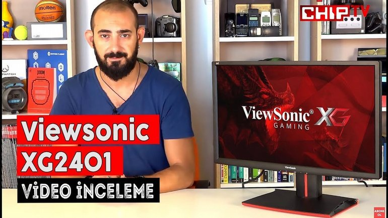 Viewsonic XG2401 İnceleme
