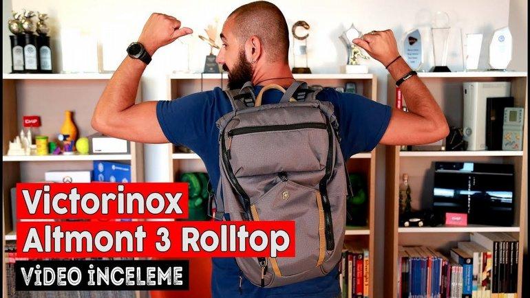 Victorinox Altmont 3.0 Rolltop İnceleme