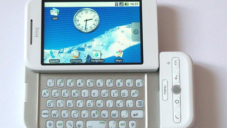 İlk Android'li Telefon: HTC Dream