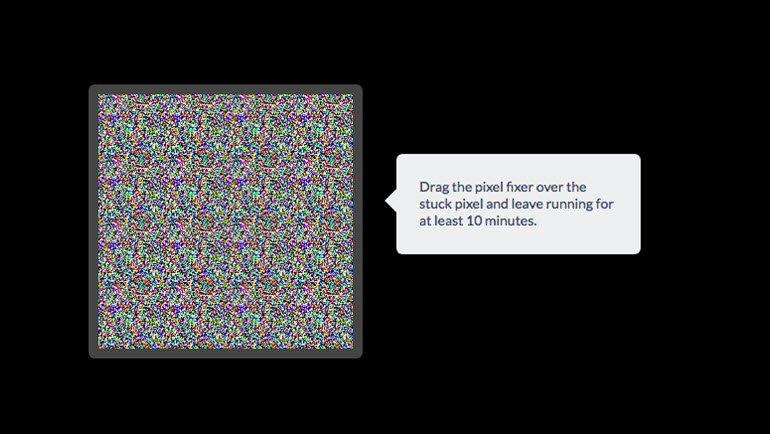 Takılmış ve Ölü Piksellerden Kurtulun