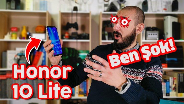 Honor 10 Lite İnceleme