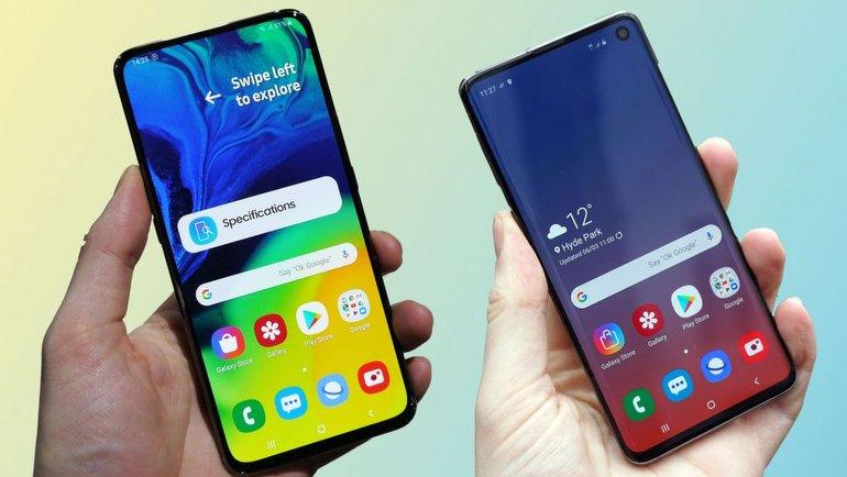 Galaxy A80 ve Galaxy S10 Karşı Karşıya!