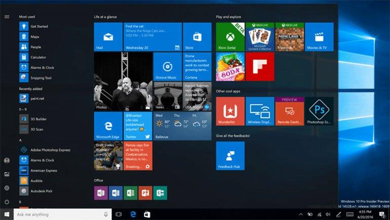 Windows 10'da Deneyim Dizini Puanını Bulma
