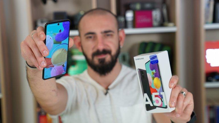 Samsung Galaxy A51 İnceleme