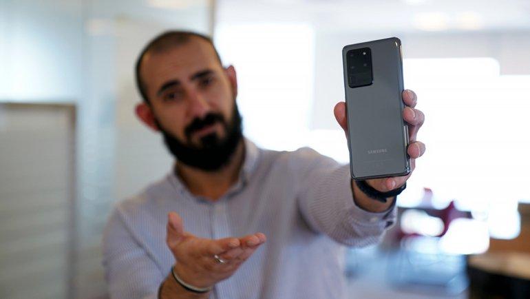 Samsung Galaxy S20 Ultra Ön İncelemesi! S20 Ultra Özellikleri ve Fiyatı!