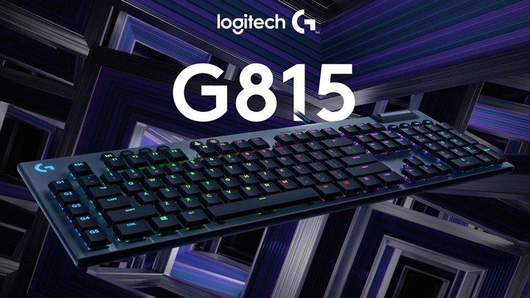 Tasarımı ile Oyuncuları Baştan Çıkaran Logitech G815 LIGHTSYNC'ı İnceledik!