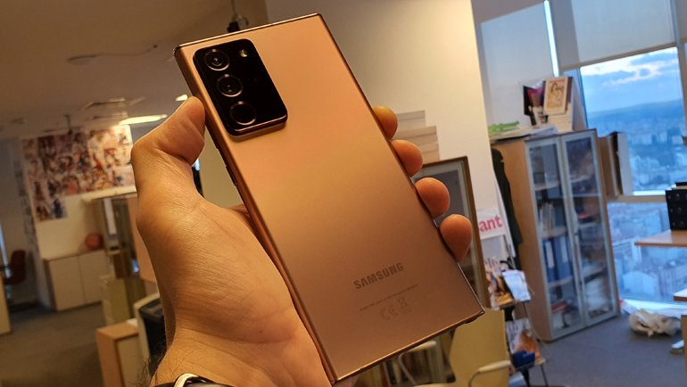 Samsung Galaxy Note 20 Elimizde! İşte Galaxy Note 20 Ultra Ön İncelemesi!
